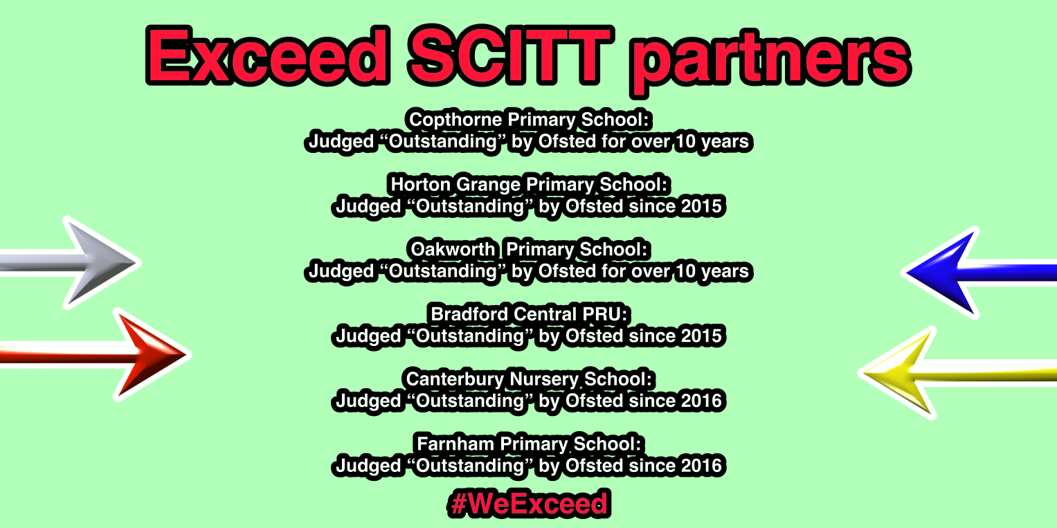 #WeExceed Ofsted